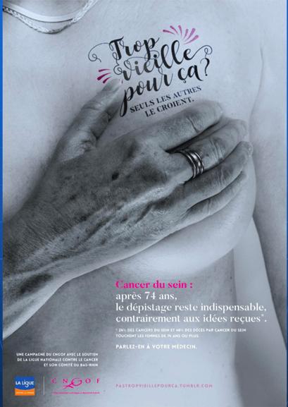 Trop veille pour le dépistage du cancer du sein
